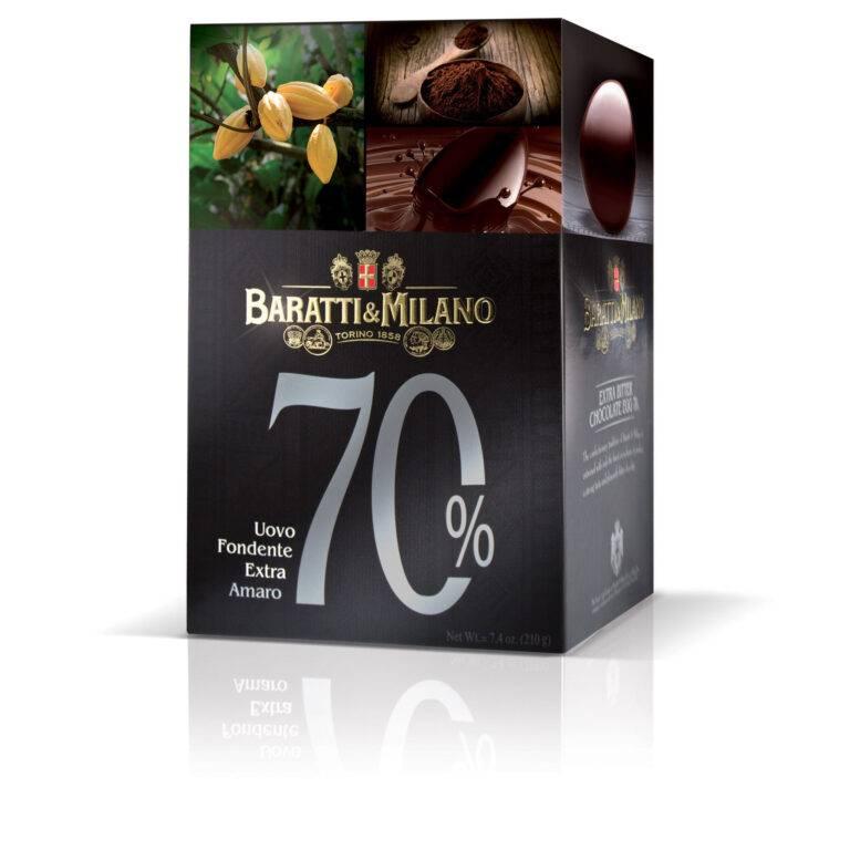 Uovo Fondente Extra Amaro Baratti Milano